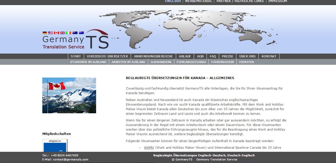 GermanyTS bietet professionelle Übersetzungen